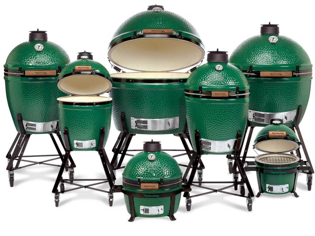 Big Green Egg Family of Eggs